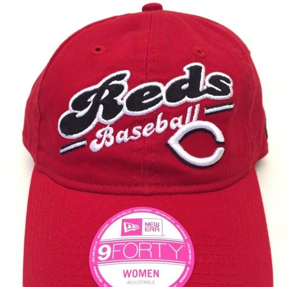 81b034d7 New Era Accessories | Cincinnati Reds 9forty Womens Cap | Poshmark